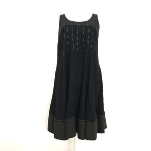 Black and Gray Nicole Miller Dress Size 6
